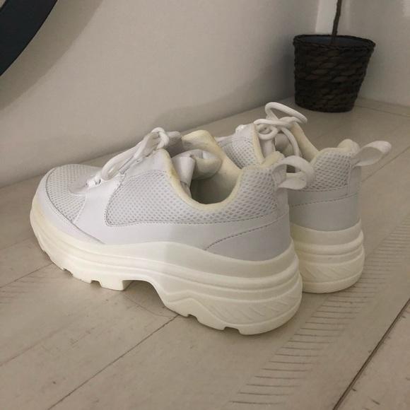 H\u0026M Shoes   Chunky Platform Sneakers
